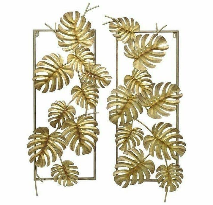 Wall Decor Pengkrajin Tembaga Kuningan Alumunium Dan Besi Kami Menerima Berbagai Macam Pesanan Produk Metal Leaf Wall Art Leaf Wall Art Metal Tree Wall Art