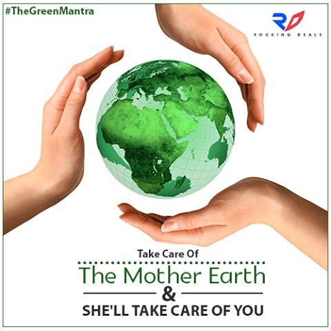 #GoForRefurbished It's always what you reap you sow! If you take one step ahead to protect Mother Earth, she will definitely take two step towards a healthy environment. #SaveEarth #MotherNature #SaveThePlanet #Environment   Know More, http://www.rockingdeals.co/