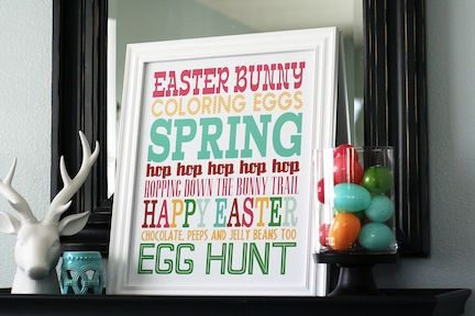 12 fun and free Easter printables!   – E like Easter