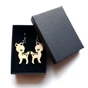 Pilke design   Bambi korvakorut   koivu