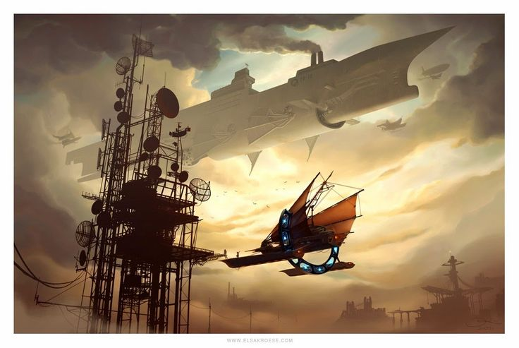 Θεοί του Ατμού: Steampunk οράματα: Αυτά που θα θέλαμε να μας στείλετε: