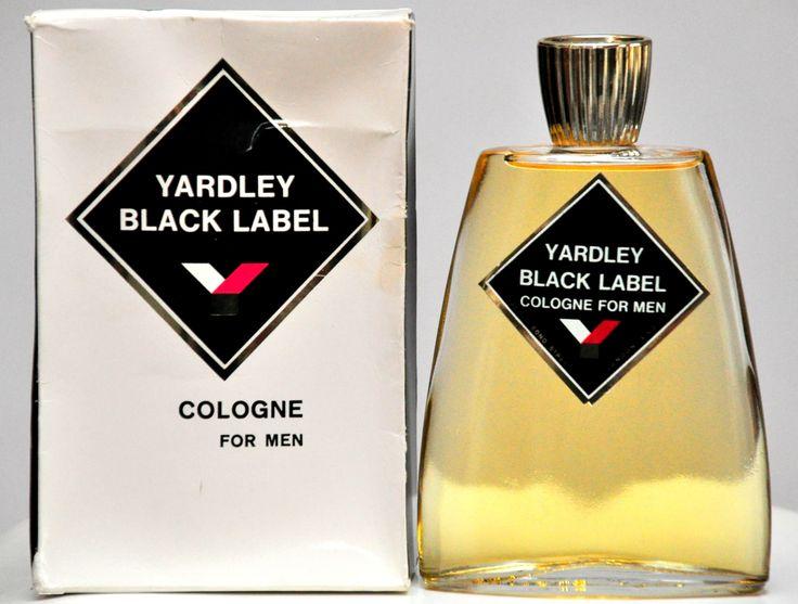Yardley Black Label Eau de Cologne For Men 170ML Profumo Uomo Vintage Rarissimo 1967 di YourVintagePerfume su Etsy