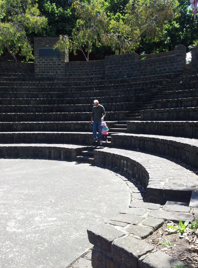 Amazing amphitheatre at the Studley Park in Fairfield. Beautiful <3