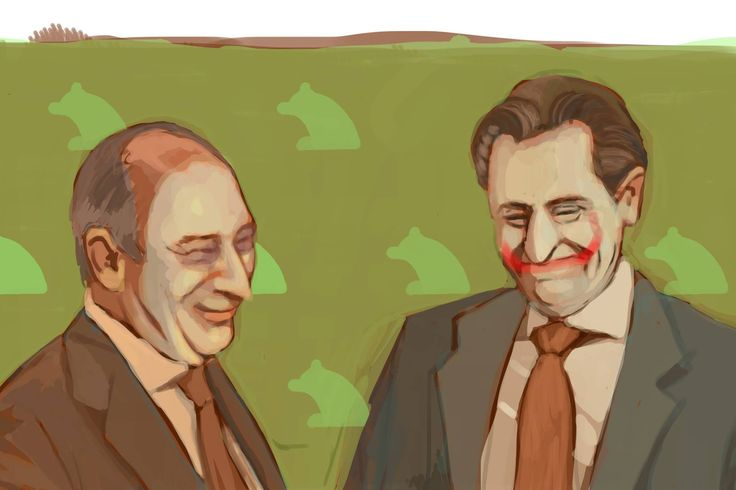 Penguin and spanish Joker Where's Batman?