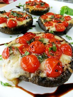Perfect recipe if you follow the Mediterranean diet (which supports bones): Caprese Style Portobello Mushrooms