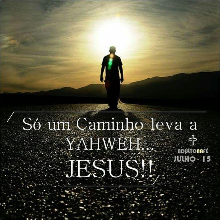 """""""E disse-lhe Jesus: Eu sou o caminho, a verdade e a vida. Ninguém vai ao Pai, senão por mim."""" - João 14:6  #IgrejaYeshua"""