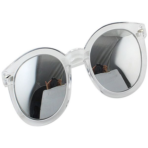 New Arrivals White Beautiful Women Wholesale Sunglasses China With... (150 ZAR) ❤ liked on Polyvore featuring accessories, eyewear, sunglasses, sunglass pouch, white sunglasses and white glasses