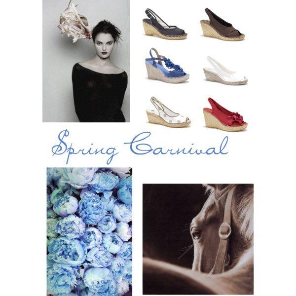 """""""Spring Carnival www.naturalshoe.com.au"""" by naturalshoe on Polyvore"""