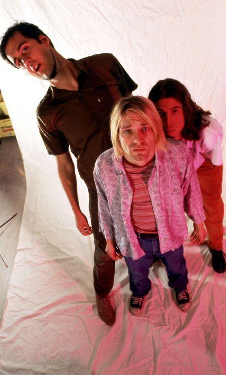 Krist Novoselic, Kurt Cobain, Dave Grohl #Nirvana