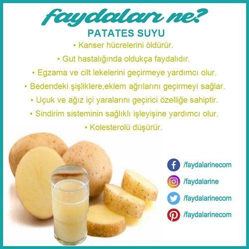 #patates #su #patatessuyu #patatessuyununfaydaları #faydaları #faydalari #faydalarıne #faydalarine
