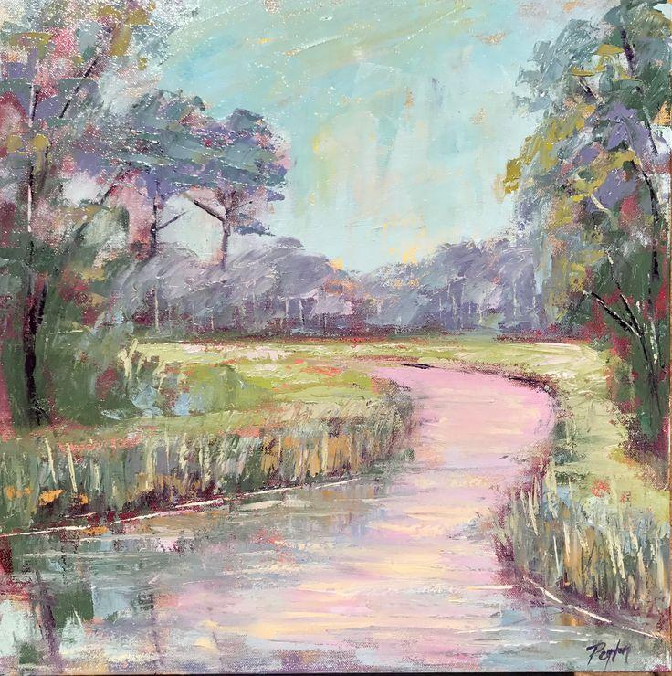 Peace like a River, 20x20, oil on canvas, www.peytonhutchinson.com