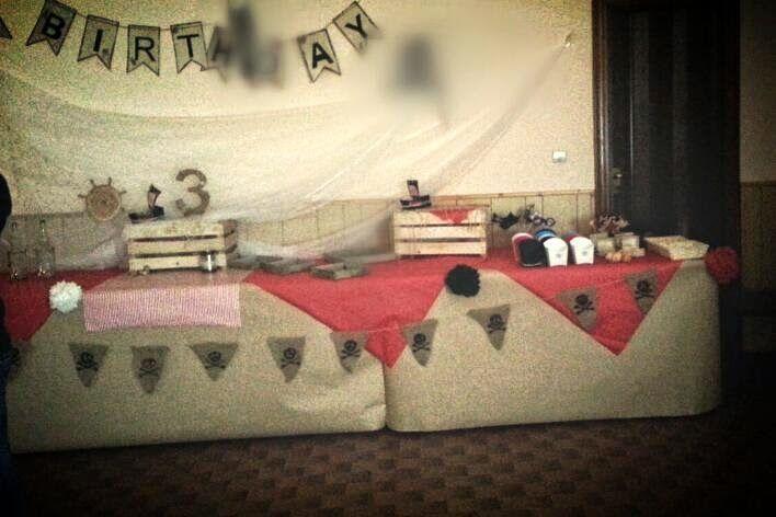 cartaecucito: Allestimento compleanno pirati