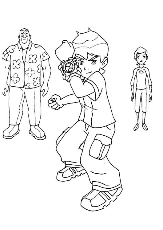 21 best ben 10 coloring page images on pinterest | coloring pages ... - Ben Ten Alien Force Coloring Pages