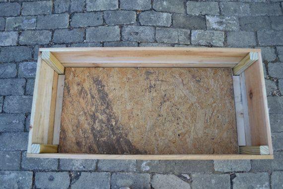 Custom Cedar Planter Box Large by TriCoWoodworking on Etsy