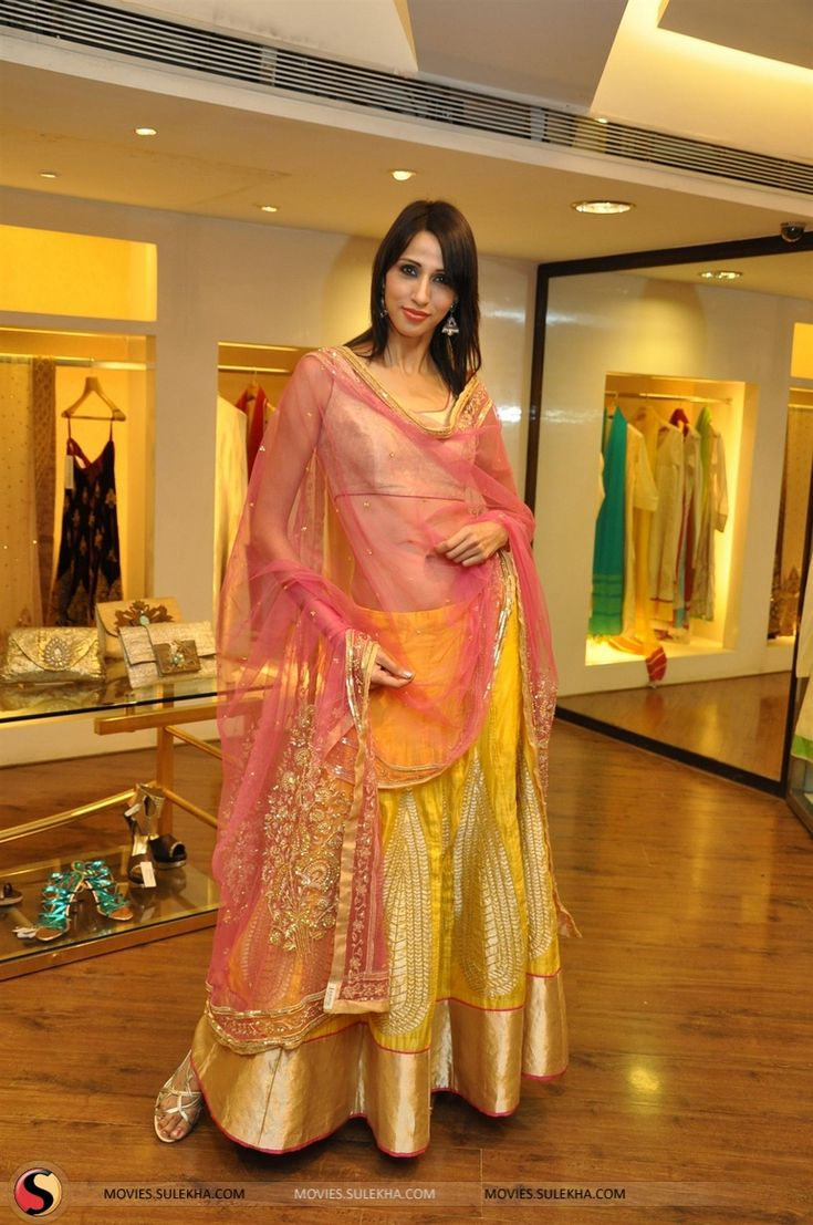 Yuvika, Tisca At Rahul Mishra's Collection Launch Stills & Pics