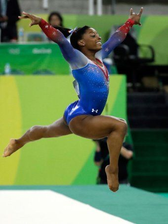 Biles clinches record-equalling fourth gold at Olympics ... ~♥~ ... Email    Rio 2016: Simone Biles clinches record-equalling fourth gold at Olympics        Updated             August 17, 2016 05:19:49                                                                                                      Photo:        Simone Biles displays her gold medal from the... ..  - #Sport ... ~♥~ SEE More :└▶ └▶ http://www.pouted.com/trends/popular-trends/sport/biles-clinches-