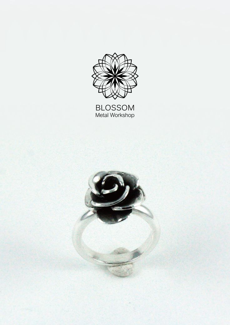 ● 訂製款 ─ 玫瑰素戒 ● Custom ─ Rose Ring