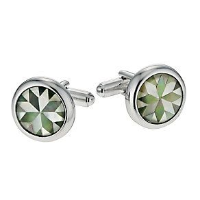 Simon Carter men's grey mother of pearl cufflinks - Product number 9407839