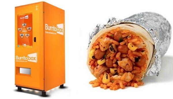 World's First Burrito Vending Machine Dispenses Instant $3 Burritos -