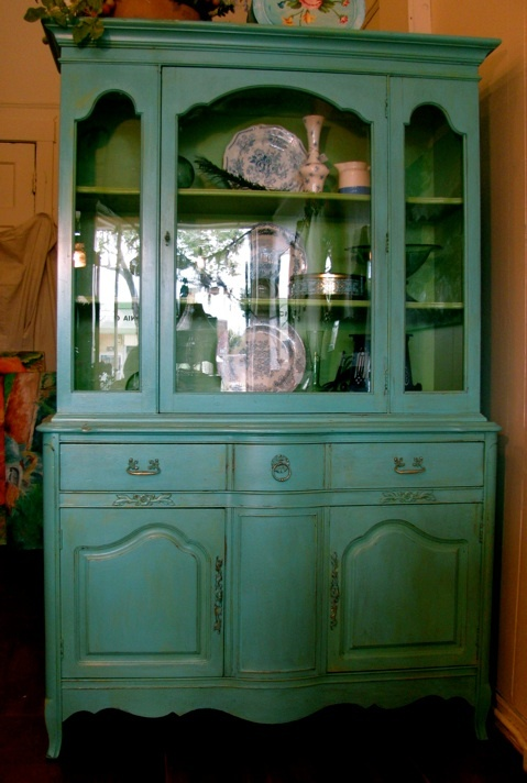LOVE This Refurbished China Cabinet From Side Furniture Store In Berkeley
