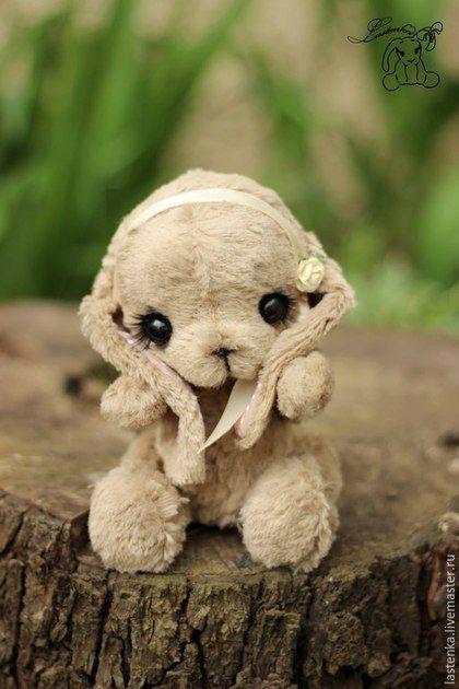 Тедди игрушка зайка Мия #teddy #ooak