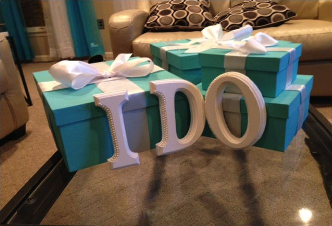 breakfast at tiffany's bridal shower centerpieces - Google Search