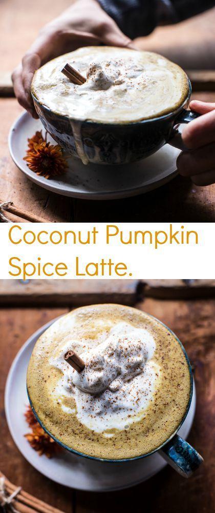 Coconut Pumpkin Spice Latte | halfbakedharvest.com @zicococonut