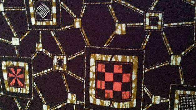 Stoff afrikanisch - Afrikanische STOFFE batik - ein Designerstück von Nafula-Lilian bei DaWanda