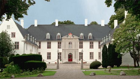 Schackenborg Palace lies in Møgeltønder and has belonged to the Schack family for 11 generations. Today, Prince Joachim and Princess Marie reside at Schackenborg Palace ~ Denmark
