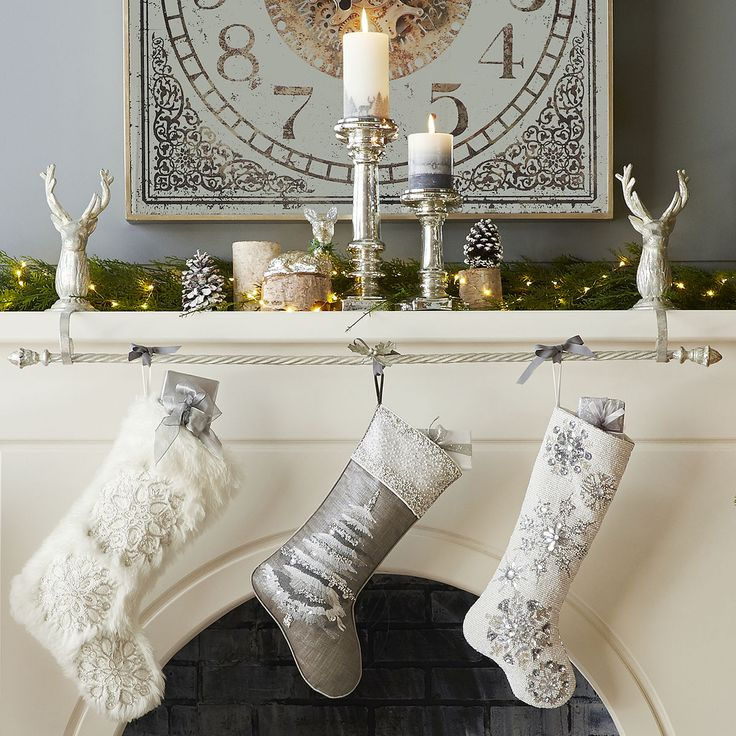 Weighted Christmas Stocking Holder