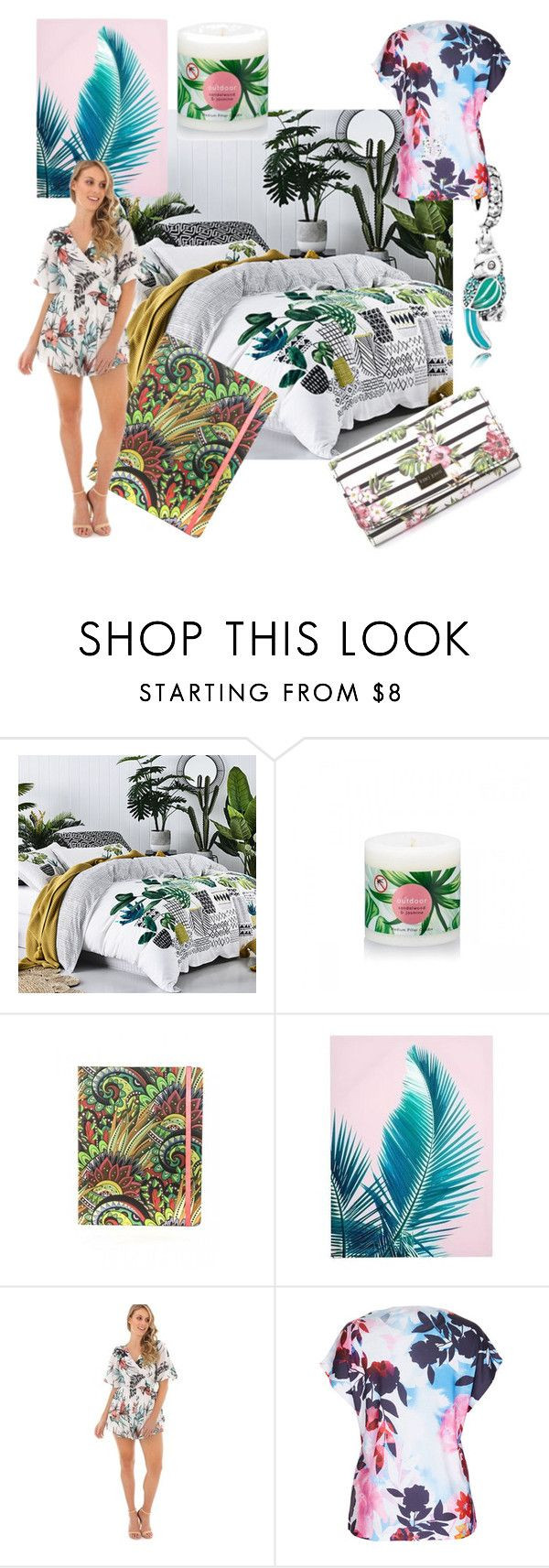 """""""A touch of the tropics"""" by thehyperdome on Polyvore"""
