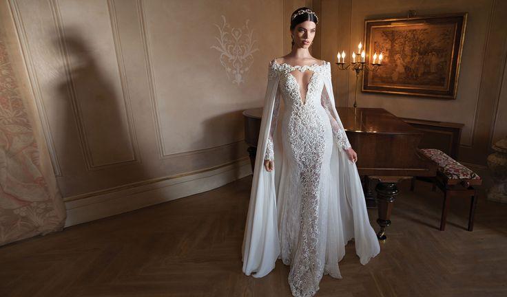 Свадебный наряд с накидкой: платье недели по версии Ivetta  #мода #свадьба #невеста #свадебнаямода #платье #свадебноеплатье