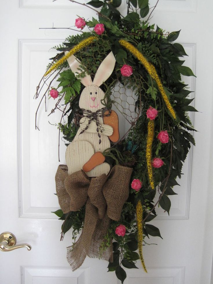 78 Best Images About Oval Wreaths On Pinterest