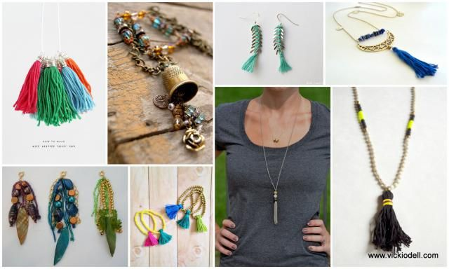 Tassels of All Kinds for Jewelry Making