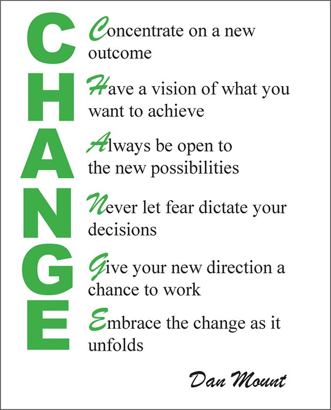 Here Is An Acrostic Poem About Change Acrostic Poems