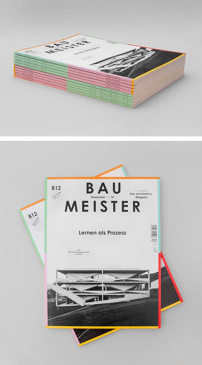 Baumeister, das Architektur Magazin  Art Direction B12 Callwey Verlag, München