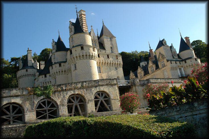 Le château d'Ussé se trouve à Rigny-Ussé, en Indre-et-Loire