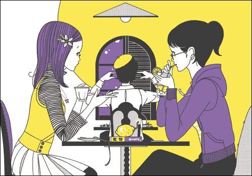 さんぽ文庫1冊目「檸檬」より:中村佑介
