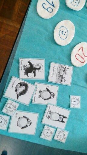 Tescos pingvinek társasjáték 2. rész. Feladatkártyák, és az, hogy hányszor kell megcsinálni.