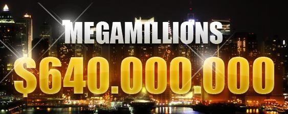 Mega Millions Jackpot Hits $640 Million