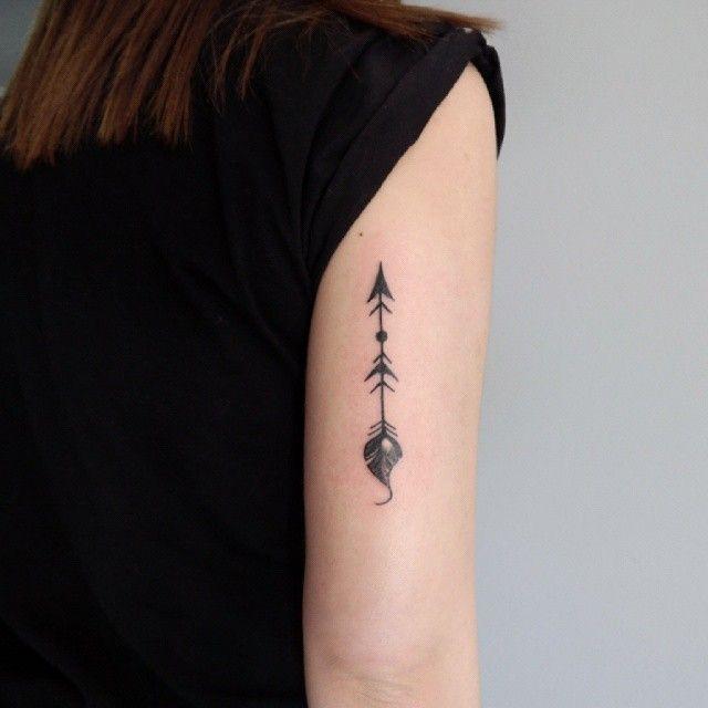Girly Arrow Tattoos Arrow tattoo by john v...