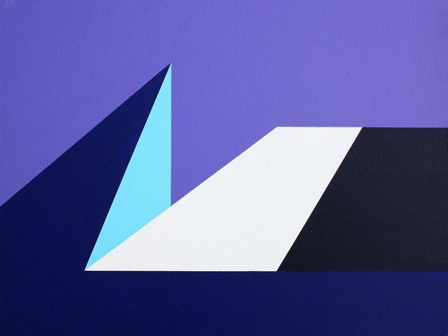 Hard-edge Painting #113 by Gary Andrew Clarke