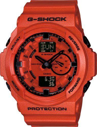 Casio GA150A-4A Watch from #Casio #G-Shock #GA-150A Watches http://watchesforsaleonline.blogspot.ro/2016/01/casio-g-shock-ga-150a-watches.html