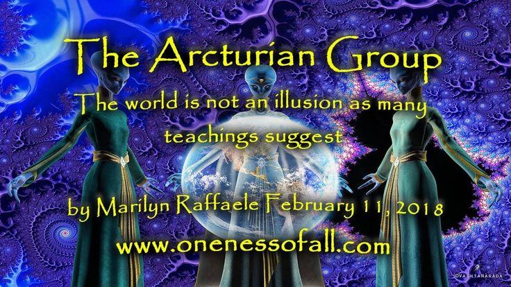 The Arcturian Group by Marilyn Raffaele February 11, 2018