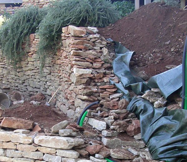 20 best murs images on Pinterest Stone walls, DIY and Retaining walls