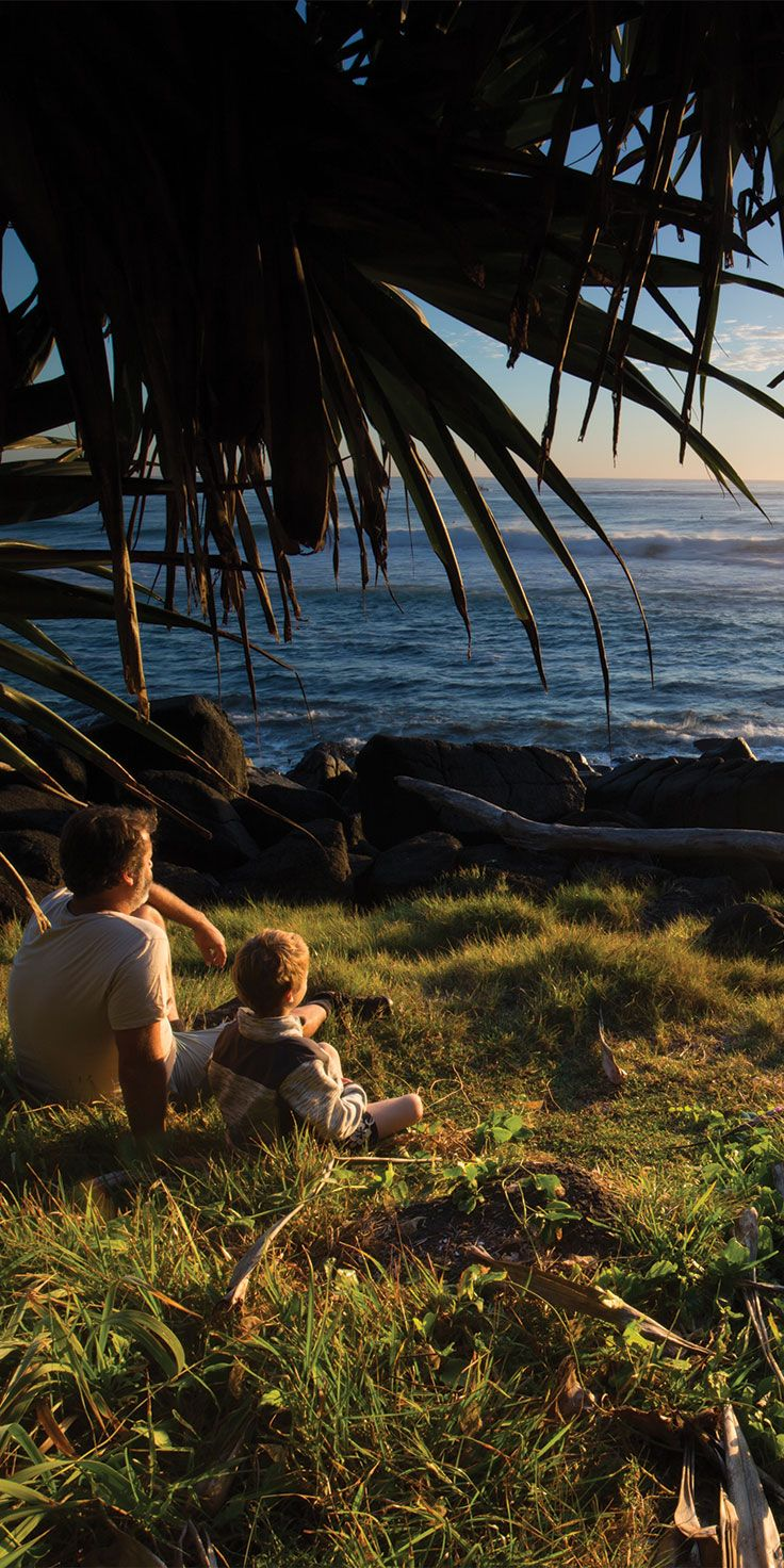 Whether at home or afar, family holidays create special memories that last a lifetime.     Burleigh Heads - by Sean Scott