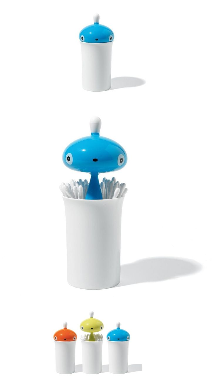 Pisellino Q-Tip Holder