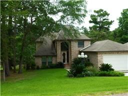 Waterfront home for sale in Cape Royale, Lake Livingston. 121 Twinstone Cir, Coldspring TX  77331