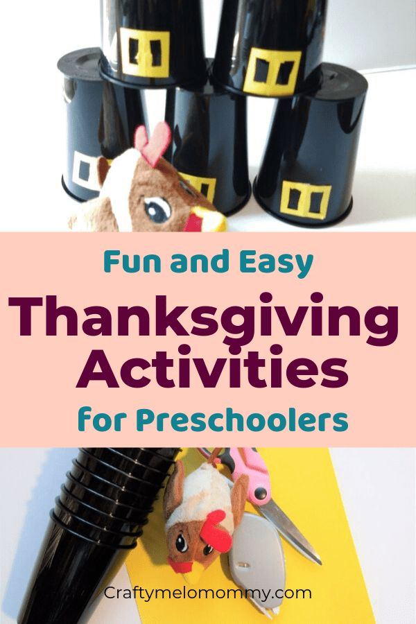 5 Super Simple Thanksgiving Activities For Preschoolers And Up