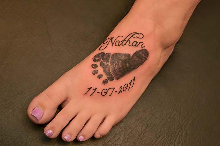 3a68db309 Disegno Ken Ay: PDF Baby boy footprint tattoo ideas